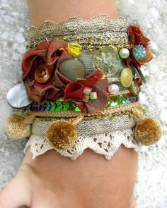 Fabric Cuff Bracellet