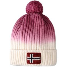 Napapijri Hat ($69) ❤ liked on Polyvore featuring accessories, hats, ivory, white winter hat, sport hats, sports hats, sports beanie and beanie cap hat