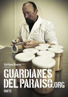 """Anuncio de campaña Teaser """"Guardianes del Paraíso"""". Emiliano Álavrez, conservero #gastronomia #SaboreaAsturias #ParaísoNatural"""