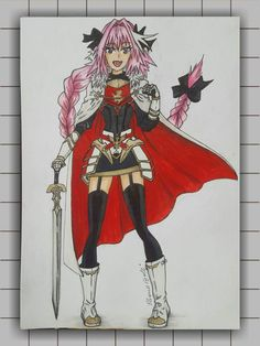 Honestly i really enjoyed drawing Astolfo because is one of my favorite characters from the Fate series must say my favorite servant. I wish i had a servant like him :relieved: shhh he's still a boy you know wink jk jk i mean who wouldn't like him as a servant. Well this is all about the artwork and why i loved and enjoyed drawing him. As per now i enjoyed it a lot our collab and it was a beautiful one for me.
