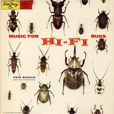 vintage LP cover / Music for H i - F i Bugs