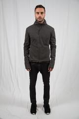 m.a+ - Carbon Grey Relaxed Aviator Jacket
