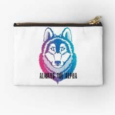 """""""Always the alpha"""" inspiring text that can be used on a lot of objects. Check my shop for more! Aesthetic Eyes, Travel Mug, I Shop, Zip Around Wallet, Coin Purse, Objects, Mugs, Clothes For Women, Trending Outfits"""
