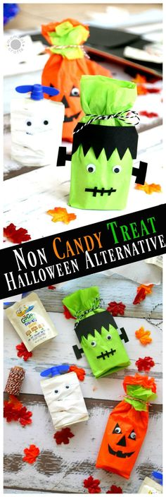 Non-Candy Halloween Treats and Party Favors Favors, Halloween - cute halloween treat ideas