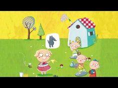 Henri Dès raconte - Les trois petits cochons - Histoire pour enfants - YouTube
