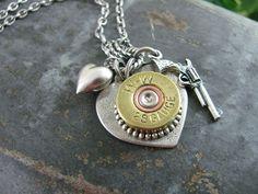Shotgun Jewelry. Want!