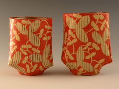 ceramics by USA artist, Adero Willard -- somehow this has an Asian aesthetic to me...