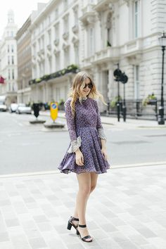 What Olivia Did...: Little Purple Dress