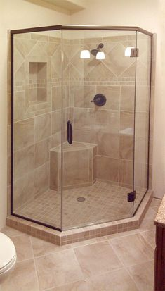 Neo-angle shower surround