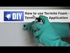 Treat for termites yourself with our DIY Subterranean Termite Treatment guide will teach you the steps to do a proper subterranean termite treatment and regain control over your home. Diy Pest Control, Termite Control, Pest Control Services, Bug Control, Rat Infestation, Types Of Insects, Backyard Projects, Being Used