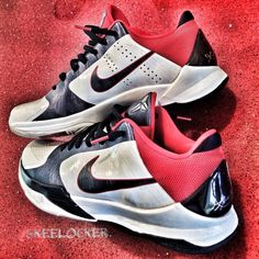 """#SkeeLocker 147/365: Nike Zoom Kobe V """"USA""""  Happy Memorial Day & salute to all our veterans and those in service"""