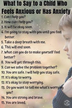 How to Help Kids with Anxiety Using Kindness. Not sure what to say to kids with anxiety or anxious behaviors? Here's a kind and empathic list every parent, teacher and caregiver should have. Deal With Anxiety, Anxiety Help, Gentle Parenting, Parenting Advice, Kids And Parenting, Parenting Classes, Tips, Bedrooms, Soaps