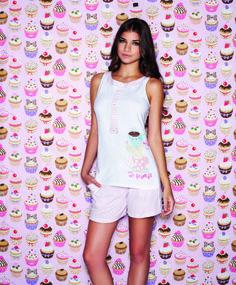 Pijama tirantes Cupcake Style