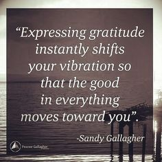 Have you done your gratitude exercise this morning?  Begin each day with an attitude of gratitude!  #SandyGallagher #BobProctor #PGI #Gratitude #GoodMorning #Regrann  @Regrann from @proctorgallagher -