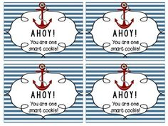 Back to School Tag {AHOY! You are one smart cookie!}