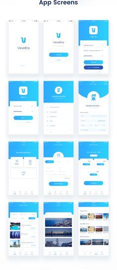 Veveltra App Design on Behance