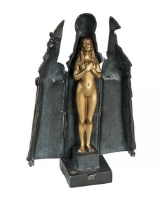 Bronze sculpture with a trick «Pharaoh» by Titze. Vienna, Austria. The late 19th - early 20th century.