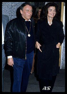 Jackie Kennedy & Frank Sinatra