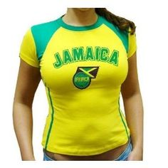 BLOWOUT SALE - CLEARANCE SALE -STRETCH FIT AND SEXY Jamaica Juniors, LADIES,WOMEN,GIRLS Soccer Jersey, Jamaican Futbol Girls Juniors Shirt, Jamaica International Soccer Juniors T-shirts SIZE LARGE RUNS SMALL SO FOR LADIES MEDIUM IN SIZE $19.99