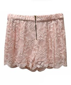 Another great find on #zulily! Potter's Pot Peach Lace-Overlay Shorts by Potter's Pot #zulilyfinds