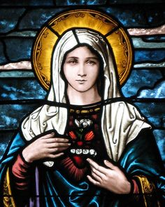 Immaculate Heart of Mary-Photograph Copyright 2011 Loci B. Lenar