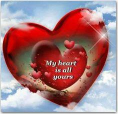 My heart is all yours   --  Mein Herz gehört Ihnen