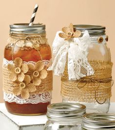 Mason Jar Drink Ideas | Shop bulk mason jars on Joann.com