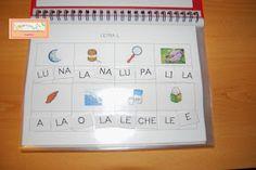 El baúl de A.L: Carpeta de lectoescritura fase III: sílabas