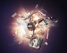 into Icons of Media Technology on Behance