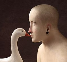 Irma Gruenholz's Surreal Illustrations Crafted with Clay