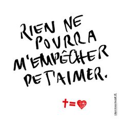 Partager le message | Cross Equals Love