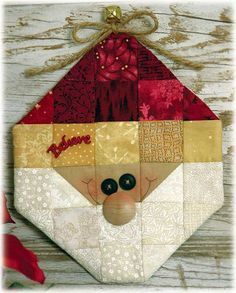 "Stitcherie Candle Mats | Happy Hollow Designs: ""BELIEVE"" SANTA CREATIVE CARRYOUT KIT"