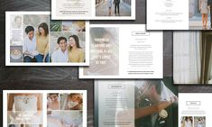 Sale! Wedding Photography Brochure by Bittersweetdesignboutique on Creative Market