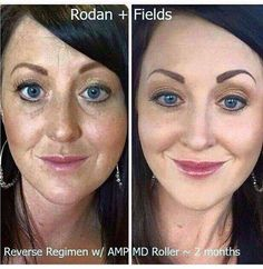 Whoa! Only 2 MONTHS on the  R + F REVERSE Regimen and looking 10 YEARS younger!!! Message me to start aging backwards too!! It only takes a few minutes out of your day to do something for yourself!! No matter what your skincare concern is, R+ F has something for everybody!!!  mklecroy.myrandf.com