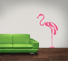 pink flamingo // love the simplicity