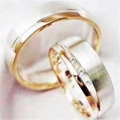 2 Trauringe Silber 925 Eheringe Verlobungsringe Partner Ringe mit Gravur TA69-3