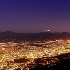 Who do you love looking out at the city lights with?  Amazing view of Quito Ecuador by @rzphotoec (via @travelsouthamerica). Thanks for tagging #travelstoke! by matadornetwork