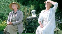 Dame Judi plays Janet Widdington in the 2004 film Ladies In Lavender, right. Dame Maggie Smith, left, is Ursula Widdington Ladies In Lavender, Stuck In The Middle, Maggie Smith, Judi Dench, Two Sisters, Cinema, The Best Is Yet To Come, Back To Black, Beautiful Day
