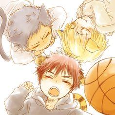 Aomine/Kise/Kagami ~ Kuroko no Basket
