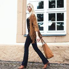 Kim, Allemagne (http://kiamisu.de/) #vaqueros #jeans #denim #look #styled4justfab