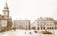 Turnov - náměstí po rekonstrukci v r. 1894