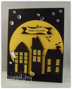 Holiday Home Halloween Card