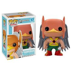 FUNKO POP HEROES HAWKMAN ORIGINAL DC UNIVERSE VINYL FIGURE Rare Retired