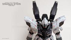 MG 1/100 Sinanju Stein Ver. Ka - Customized Build Modeled by socomforce