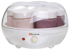 Euro Cuisine - Yogurt Maker - White, YM80