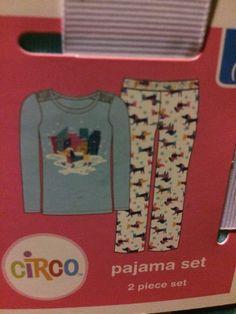 Girls 2 Piece set Pajama With fleece Bottom L/10-12 Circo New  | eBay