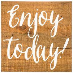 Command center - Enjoy today!