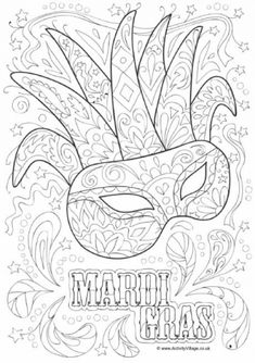 mardi gras is all about masks beads and noisy carnival fun and weve got just the colouring pages you will need youll find mardi gras colouring pages