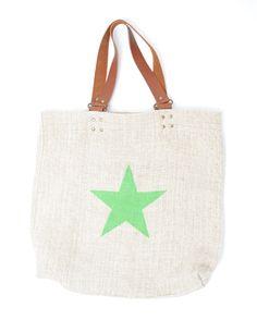 Hungarian Grain Sack Star Bag ***  #vintagelinen #totebag #grainsack #stars