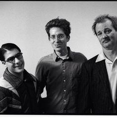 Jason Schwartzman, Wes Anderson and Bill Murray